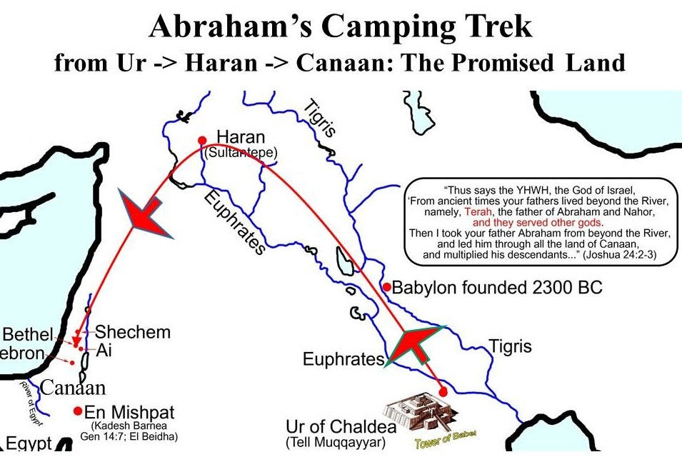 map-of-abrahams-trek-